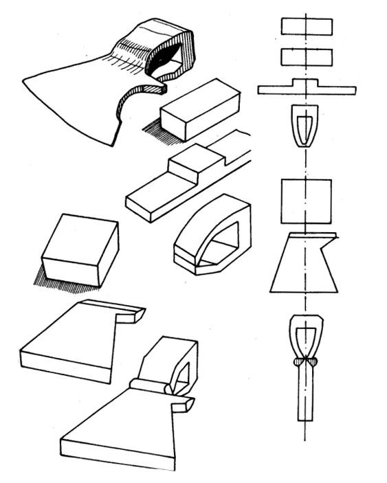 Схема сборки металлического